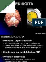 Meningite - Prelegere E.manole Stomatologie
