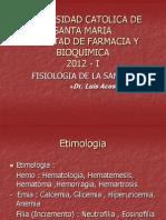 3. Fisiologia de La Sangre General Gr y Leucocitos 2012 Corregido