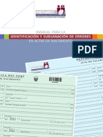 Manual Para Identificacion y Subsanacion