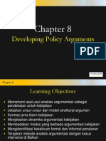Chapter8 Developing PolicyArguments