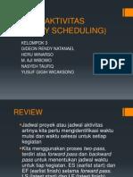 Jadwal Aktivitas (Activity Scheduling)