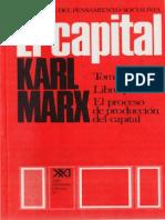 Marx, Karl - El Capital T1-V1