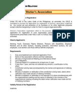 Registration WorkersAssociation