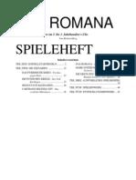 Pax Romana Spieleheft (Deutsch)