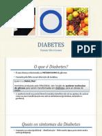 DIABETES - Palestra