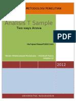 analisis t sample.doc