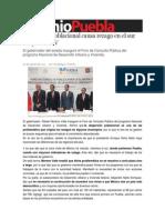 09-08-2013 Sexenio Puebla - Dispersión poblacional causa rezago en el sur del país, RMV
