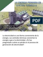 Eficiencia de La Central Termica a Gas