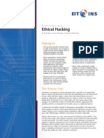 BT INS IT Industry Survey Ethical Hacking