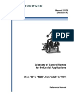 Glossary of Control Names for Industrial Applications 25179_F