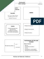 Revisão - Sistema Financeiro Internacional e Práticas Cambiais - Prof. Joni Tadeu Borges