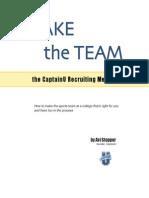Make the Team, the Art of CaptainU Recruiting