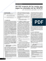 Analisis Del IGV - Afocat