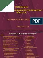 Modulos 1 y 2 Proyectos de Inv. Pub. y Priv.