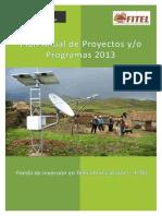 pryectos 2013