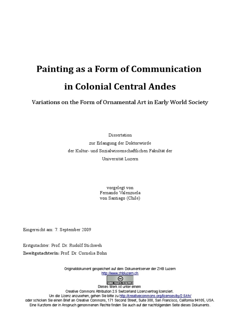 Painting As A Form Of Communication In Colonial Central Andes Paintings Philosophical Science