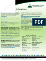 Alpine Mortgage Planning Holiday Events Guide 2013