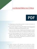 Política monetária chinesa