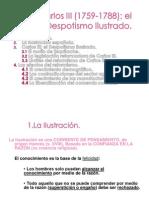 1-Carlos III El Despotismo Ilustrado(1)