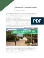 Debate aborda monitoramento e proteção da fronteira em Corumbá