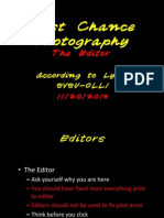 last chance photography - the editor 1