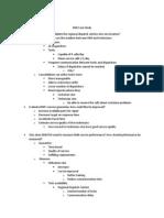 DMI Case Study Outline
