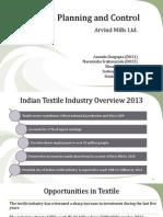 Arvind Mills PPC Overview
