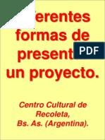 Presentación Centro Cultural Recoleta