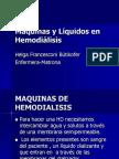 Maquinas y Liquidos en Hemodialisis