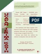 Final Piagam Penghargaan UN 2012