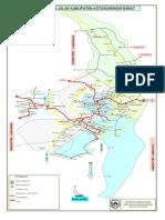 Peta Jaringan Jalan Kabupaten Ktw Barat