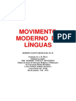 MOVIMENTO  MODERNO  DE  LÍNGUAS