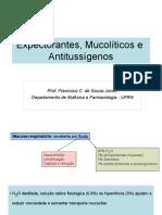 Expectorantes, Mucolíticos e Antitussíogenos 2.ppt