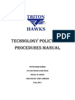 johnson edtc 6149 triton high school technology policies and procedures manual