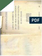 Américo Vespucci, Carta del primer viaje.pdf