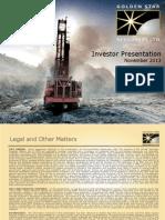 Gsr Investor Presentation Nov 2013