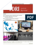 TDRI Quarterly Review June 2013