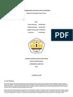 Perkembangan Industri Karet Indonesia (Makalah Teknologi Tanaman Karet)