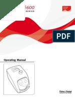 SleepStyle 600 Operating Manual