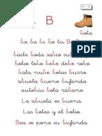 Metodo de Lectoescritura Letra b