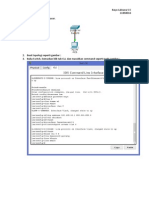 Konfigurasi Switch via Telnet - Cisco Packet Tracer