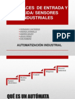 Interfaces de entrada y salida/Sensores industriales