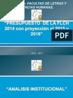 PRESUPUESTO -FLCH-2014