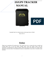GPS102B GPS Tracker User Manual