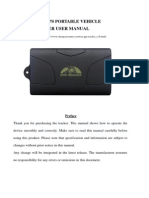 GPS104 GPS Tracker User Manual