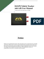 GPS106AB GPS Tracker User Manual