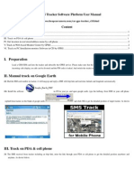 GPS Tracker Software Platform User Manual