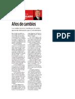 PUNTOS Y CONTRAPUNTOS, MIÉRCOLES 20 DE NOVIEMBRE DEL 2013
