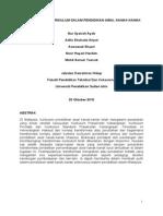 101521270 Transformasi Kurikulum Dalam Pendidikan Awal Kanak Kanak