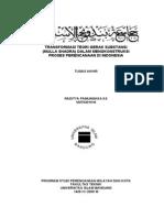 TRANSFORMASI TEORI GERAK SUBSTANSI  (MULLA SHADRA) DALAM MENGKONSTRUKSI  PROSES PERENCANAAN DI INDONESIA